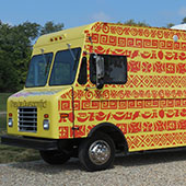Ahh Burritos Food Truck Wrap